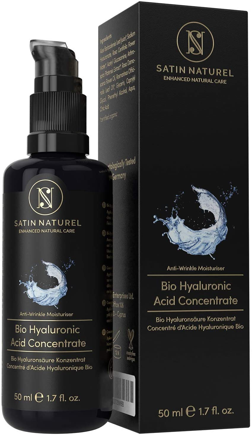 Sérum acide hyaluronique satin naturel